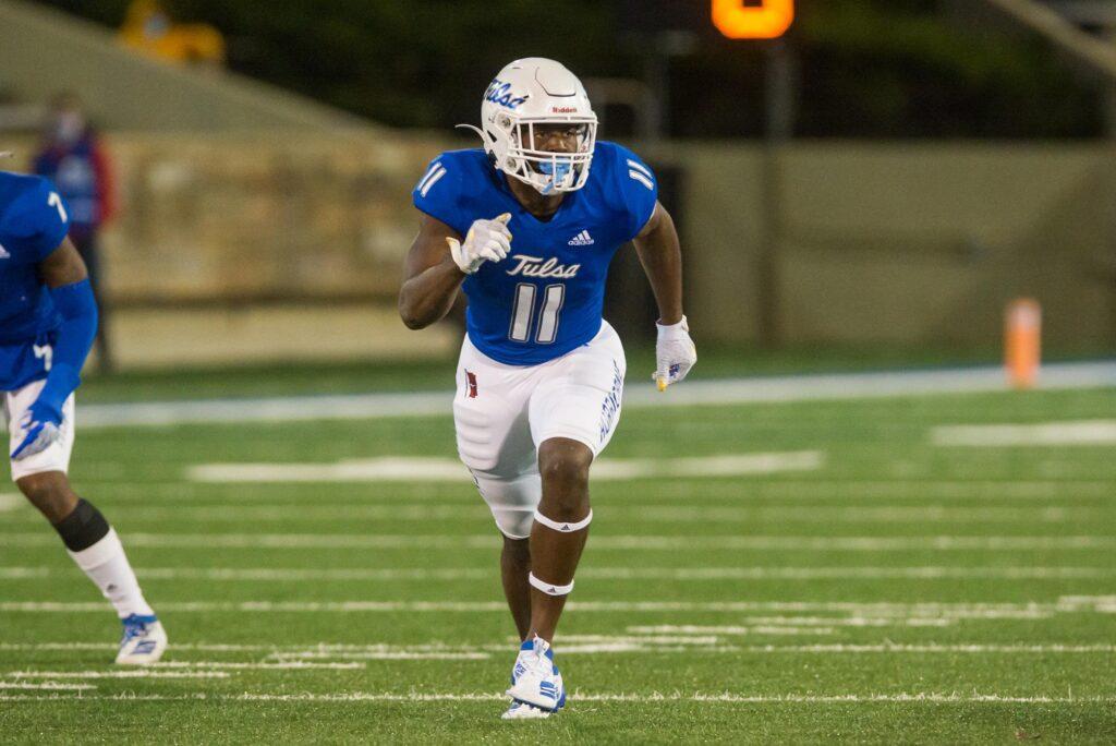 Treyvon Reeves Tulsa NFL Draft Linebacker