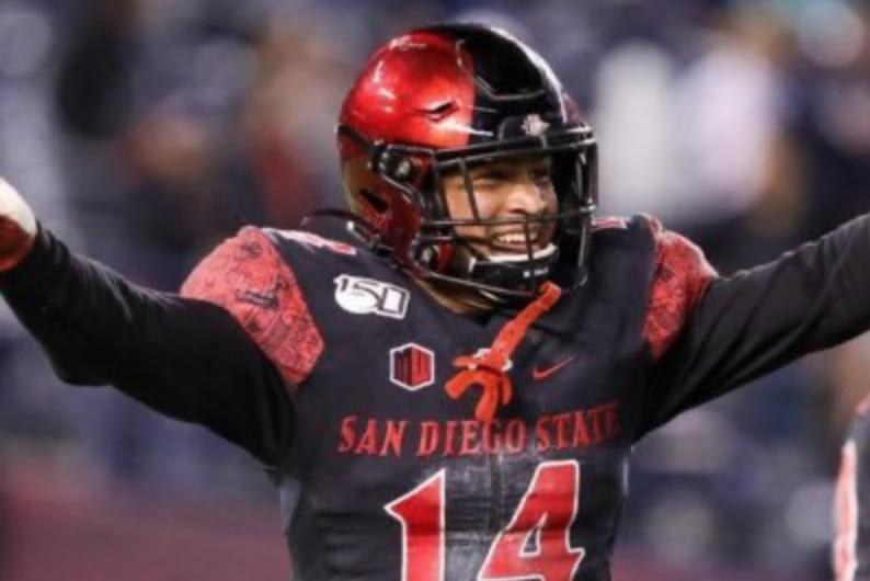 Tariq Thompson NFL Draft San Diego State University draft diamonds