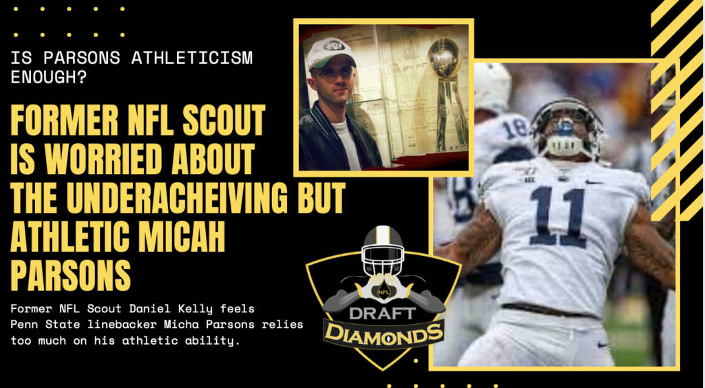 Micah Parsons NFL Scout NFL Draft, Rumors scouting report Penn State