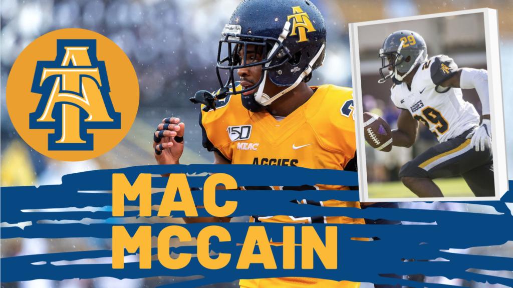 Mac McCain NFL Draft NCAT Aggies HBCU