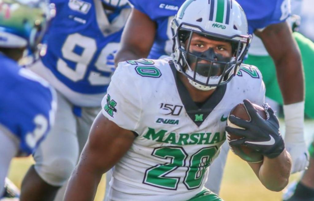 Brenden Knox Marshall NFL Draft 2021