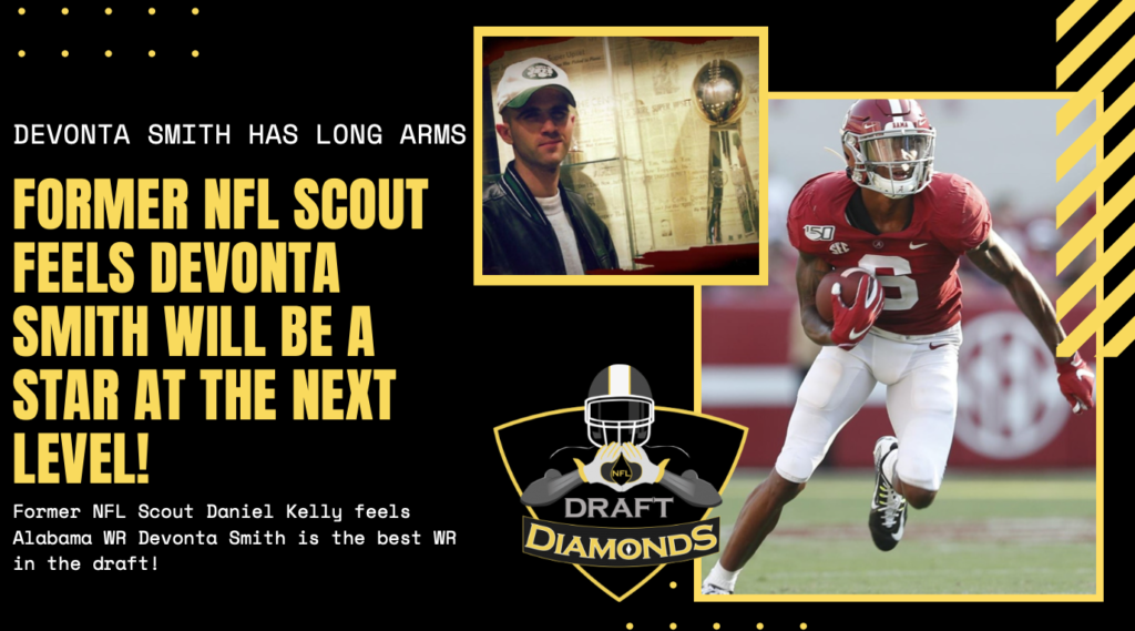DeVonta Smith NFL Draft Scouting Report Alabama