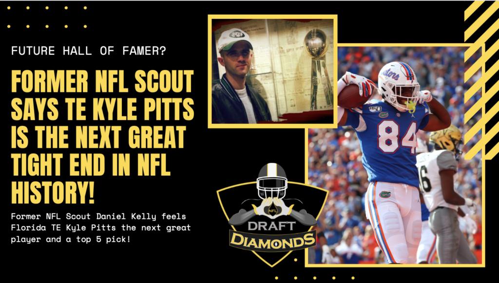 Kyle Pitts Florida NFL Draft 2021 Top Five pick
