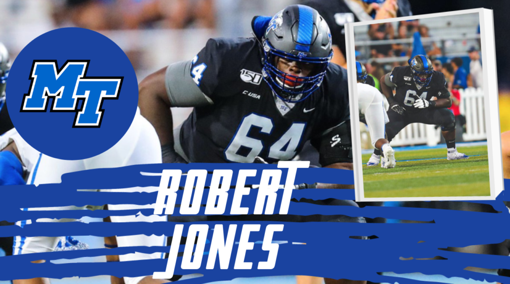 Robert Jones Middel Tennessee State NFL Draft