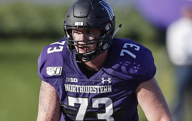 Gunnar Vogel NFL Draft Northwestern Interview