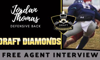Jordan Thomas Dakota State Free Agent Spotlight