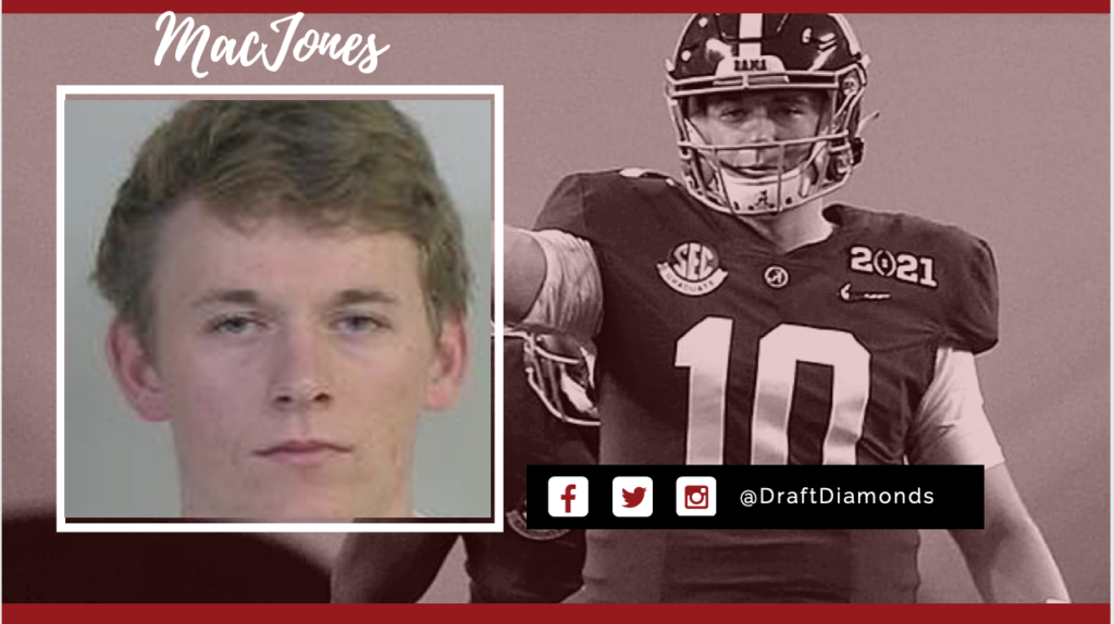 Why aren't we speaking about Mac Jones DUI?