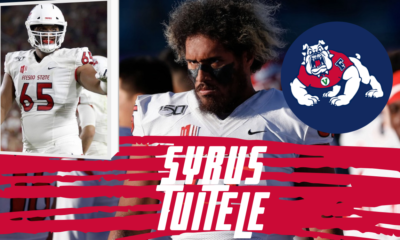 Syrus Tuitele Fresno State NFL Draft Interview