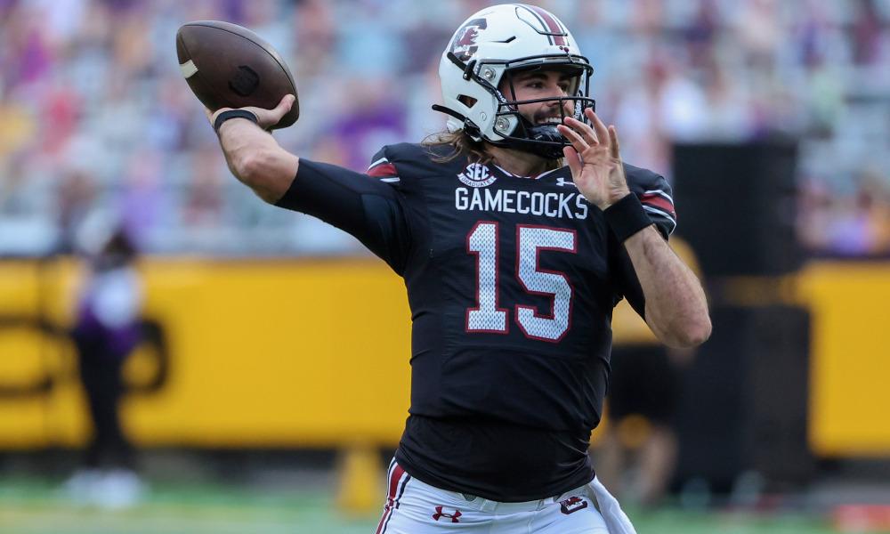 Collin HIll South Carolina quarterback draft diamonds interview