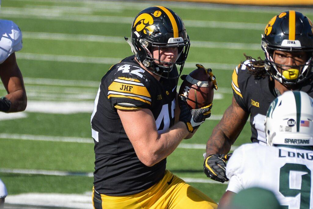 Shaun Beyer NFL Draft Iowa 2021 Prospect