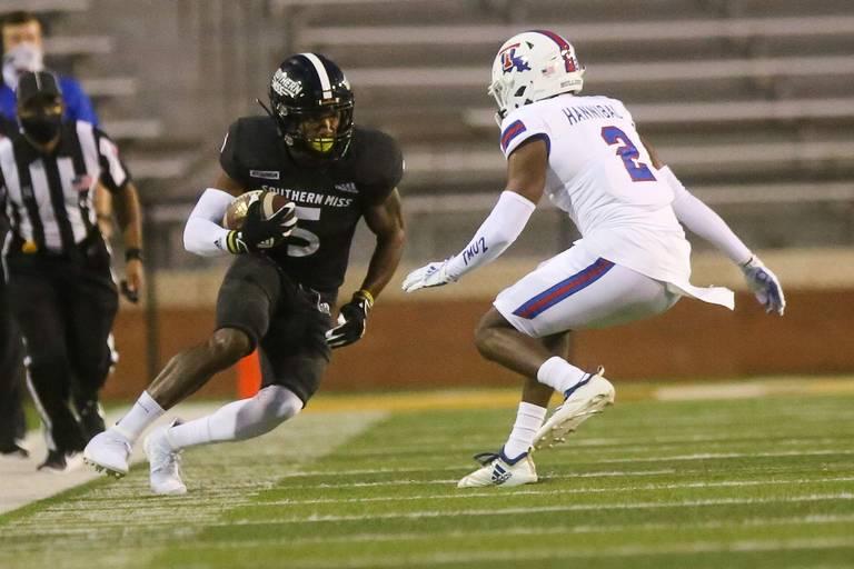 Tim Jones NFL Draft 2021 Southern Mississippi