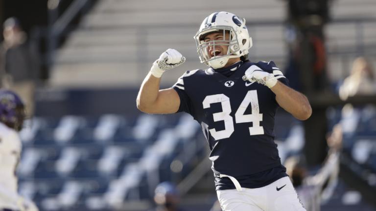 Kavika Fonua, DB, BYU interview NFL Draft Prospect