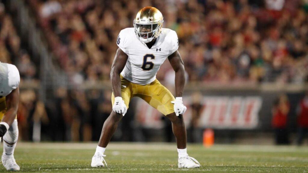 Jeremiah Owusu-Koramoah Notre Dame NFL