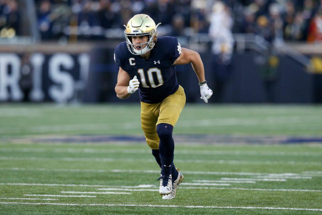 Chris Finke NFL Draft Notre Dame 2021 NFL Draft