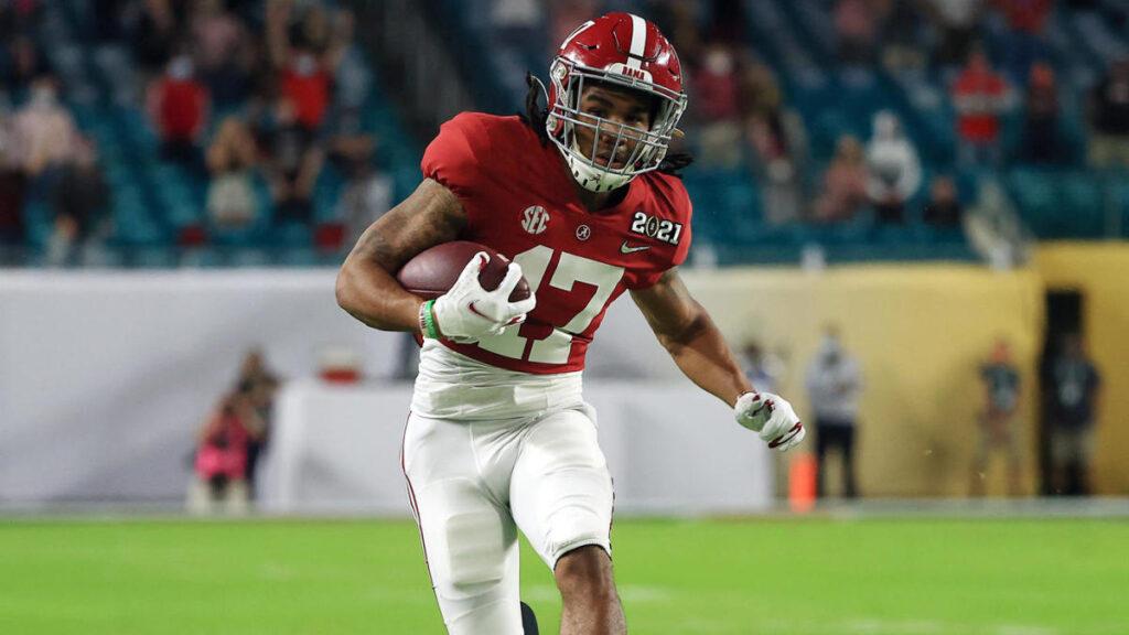 Jaylen Waddle Alabama NFL Draft 2021