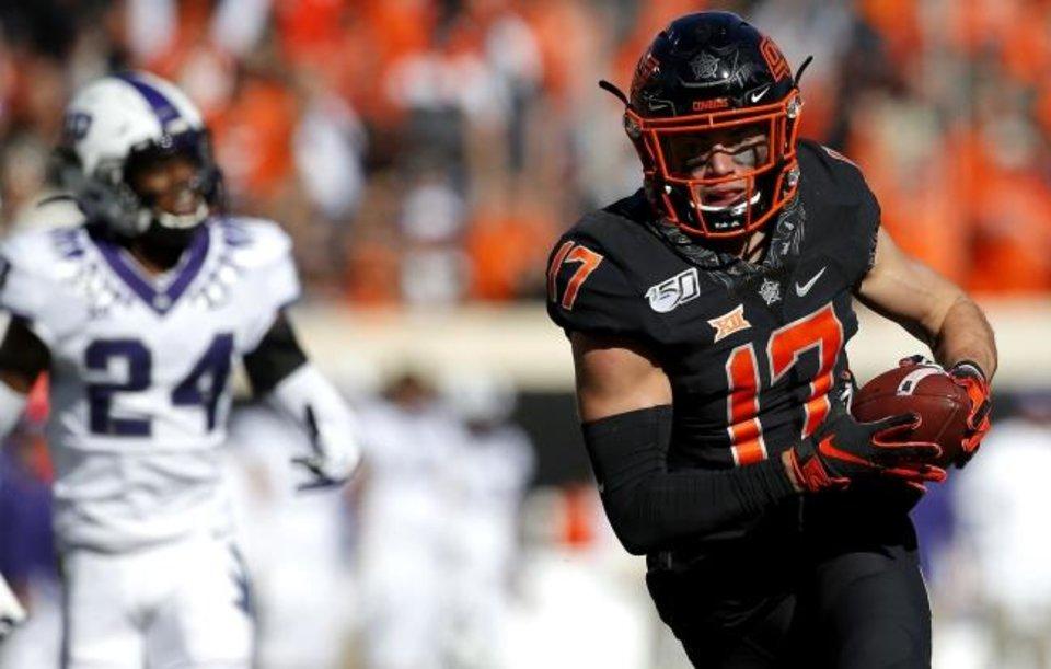 Dillon Stoner Oklahoma State NFL Draft