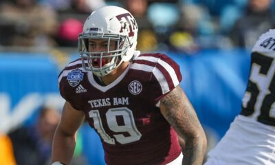 Anthony Hines III Texas A&M NFL Draft 2021