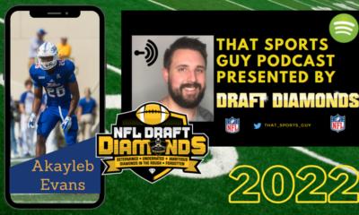 Akayleb Evans NFL Draft 2022 Tulsa