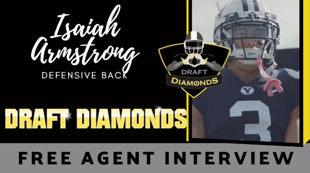 Isaiah Armstrong Free Agent Interview