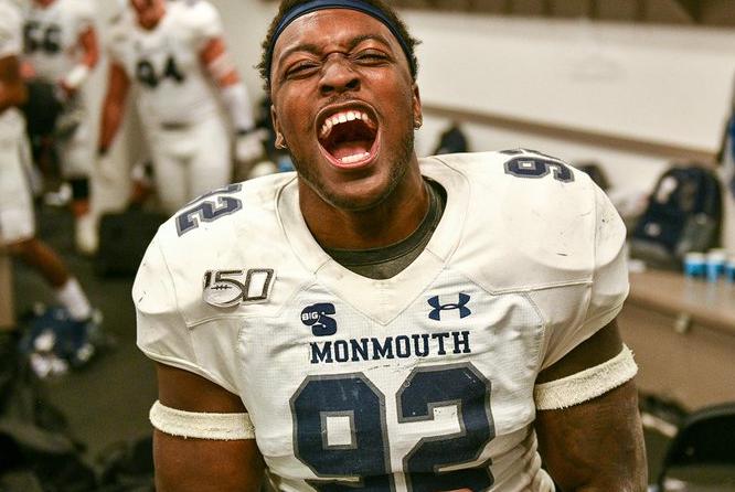 Kahari Stewart 2022 NFL Draft Monmouth