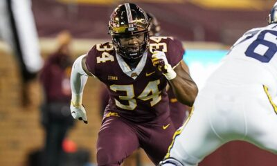 Boye Mafe Minnesota Gophers 2022 NFL Draft
