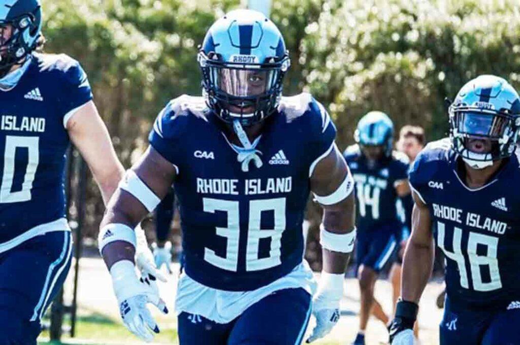 Andre Blackett Rhode Island 2022 NFL Draft