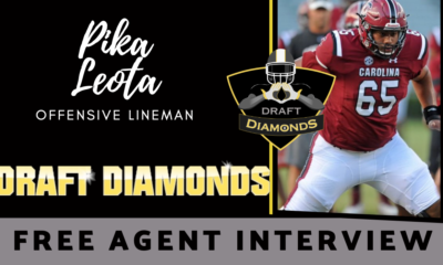 Pike Leota Draft Diamonds Free Agent Interview