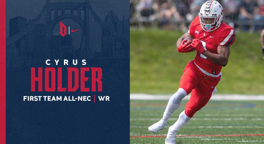 Cyrus Holder NFL Draft 2022 Duquesne