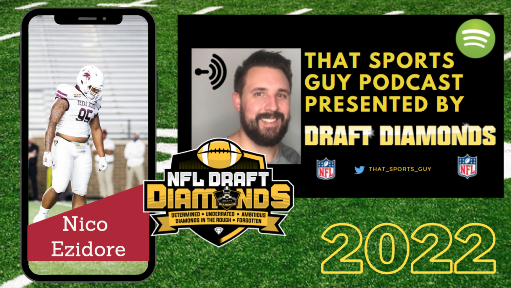 Nico Eziore NFL Draft 2022 Texas State
