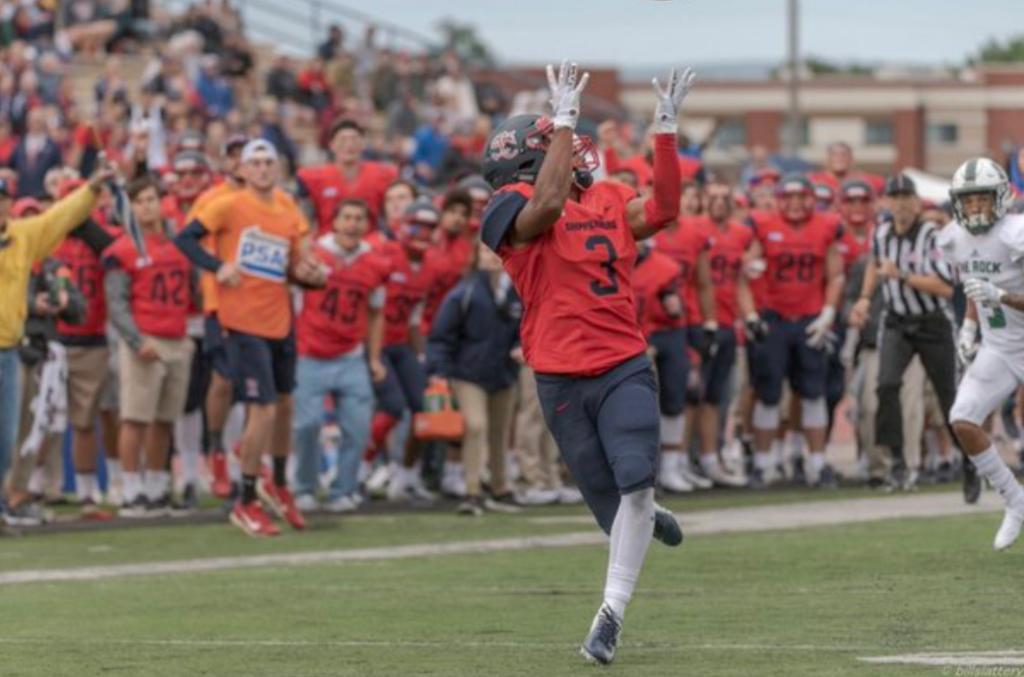 Charles Headen SMU Wide Receiver Shippensburg NFL Draft 2022