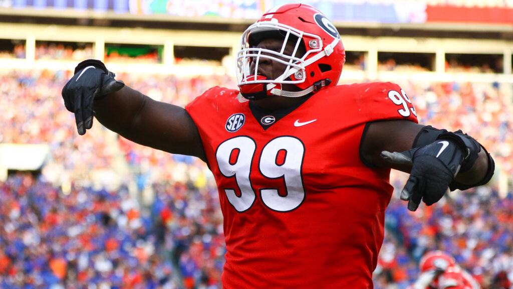 Jordan Davis Georgia NFL Draft 2022