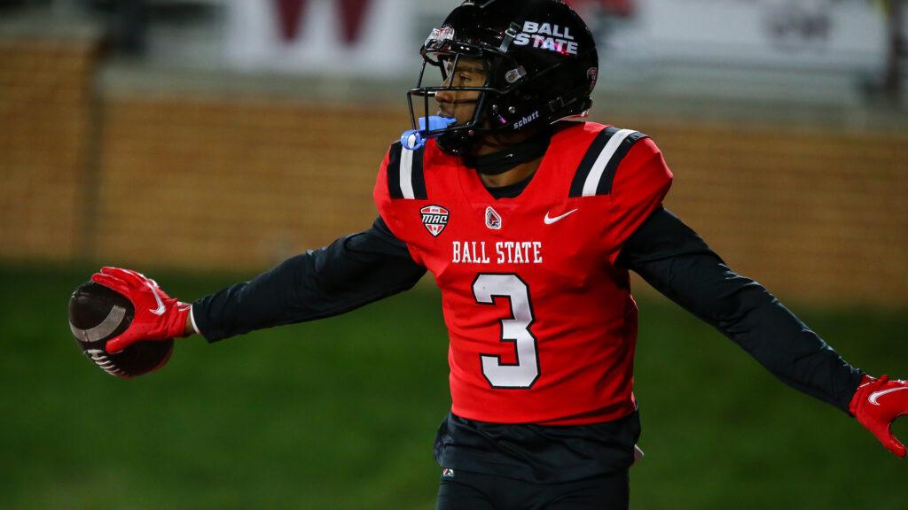 Amechi Uzodinma II Ball State 2022 NFL Draft