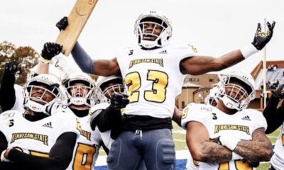Le'Vonte Larry of Kennesaw State Savnnah State 2022 NFL Draft