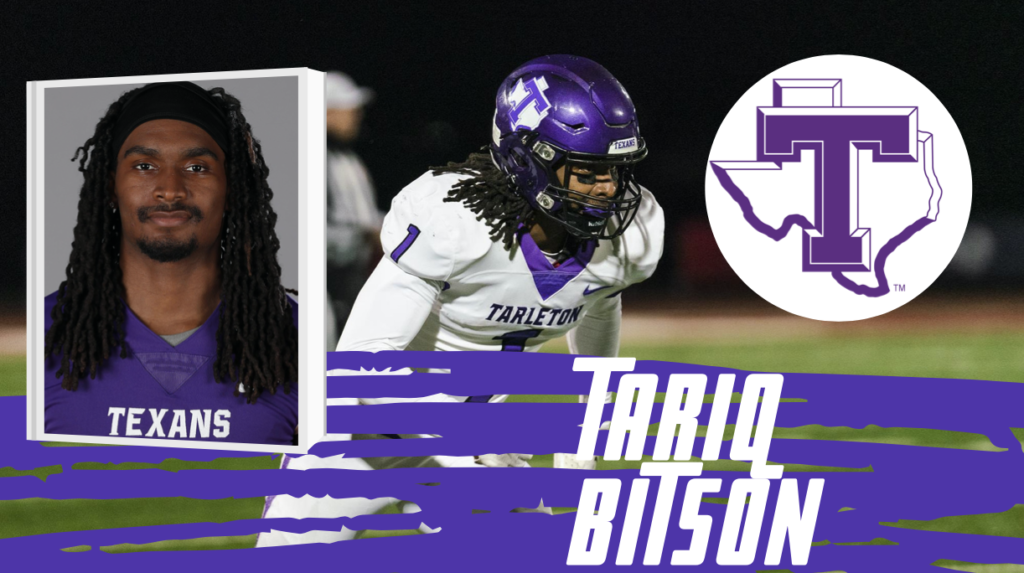 Tariq Bitson Tarleton State 2022 NFL Draft