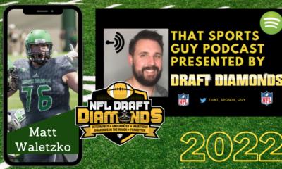Matt Waletzko North Dakota 2022 NFL Draft interview
