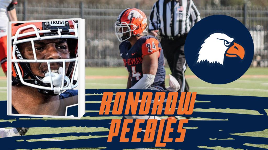 Rondrow Peebles Carson-Newman NFL 2022