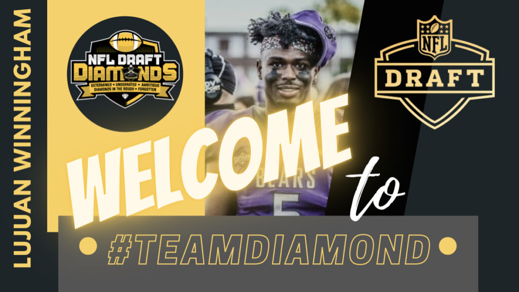 Lujuan Winningham NFL Draft Diamonds Marketing