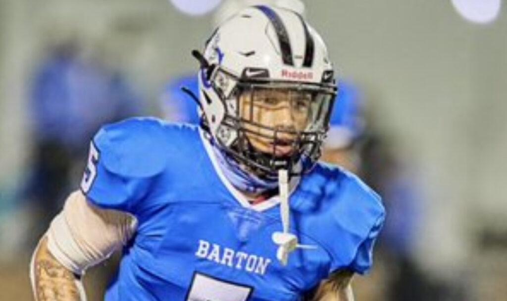 2022 Small school prospect spotlight DB Jordan White Barton College