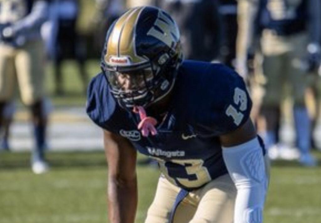 Jesiah Carlton Wingate University 2022 NFL Draft