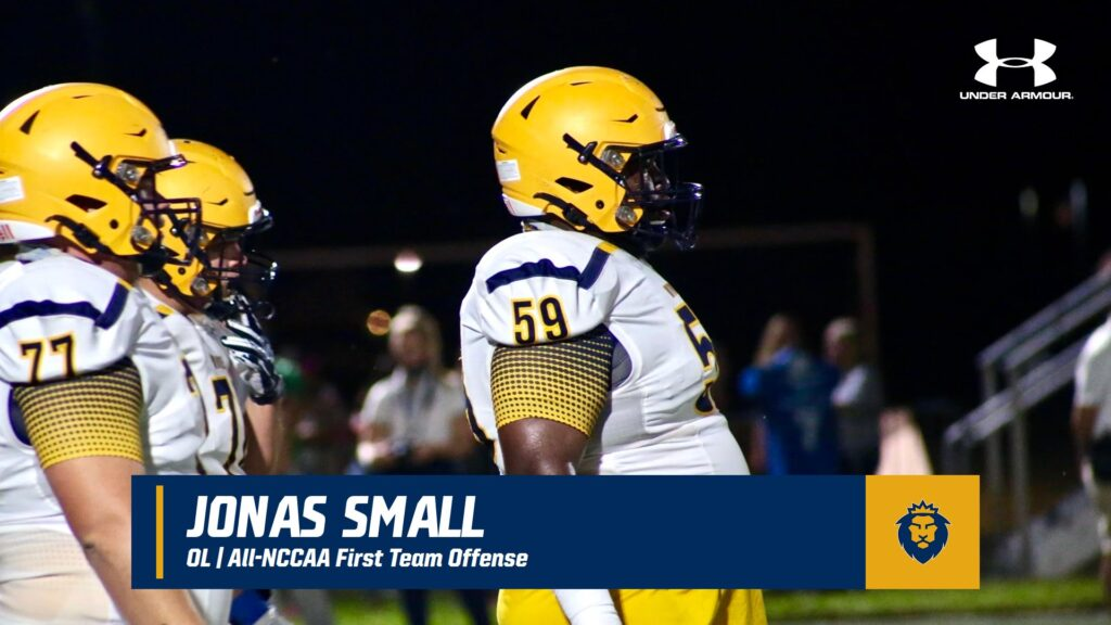 Jonas Small Warner University NFL draft 2022