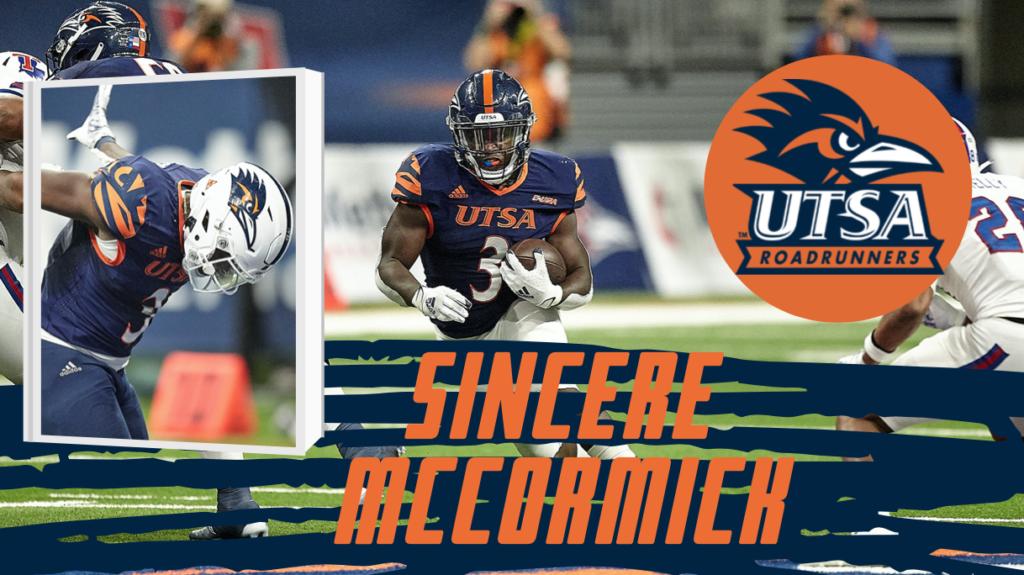 Sincere McCormick, RB, UTSA | 2022 NFL Draft Prospect Zoom Interview
