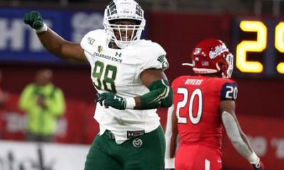 Ellison Hubbard the standout run stuffer Colorado State 2022 NFL Draft