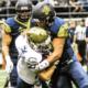 Sacramento State University's hard-hitting linebacker Taylor Powell