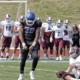 Culver Stockton College's hard hitting linebacker Patrick Robinson