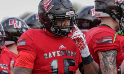Giovanni Kizer the big and athletic defensive end from Davenport University