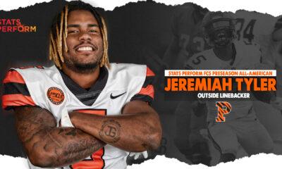 Jeremiah Tyler the standout outside linebacker of Princeton University recently sat down with NFL Draft Diamonds owner Damond Talbot