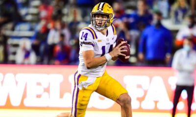 Max Johnson the LSU gunslinger could be destined for a huge season in 2021. The strong armed lefty is a player to remember.