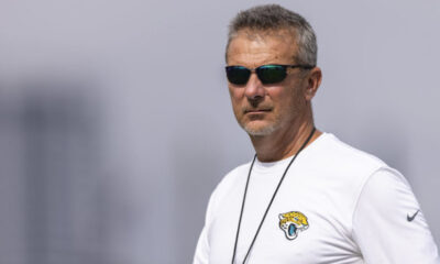 Jaguarscoach Urban Meyer said he and general manager Trent Baalke took a player's vaccination status into consideration during final roster cuts.