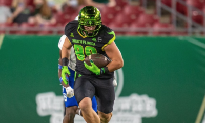 Mitchell Brinkman the big targeted tight end from the University of South Florida recently sat down with Justin Berendzen of Draft Diamonds.