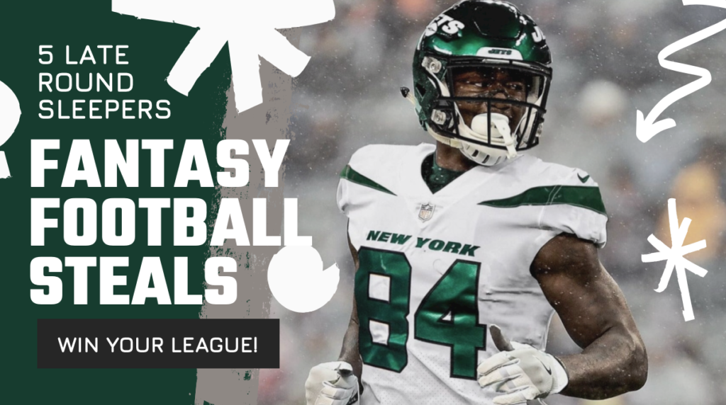 Five Wide Receivers you need to take a look at in deep leagues.  These guys are late round sleepers who I expect to have a huge season.